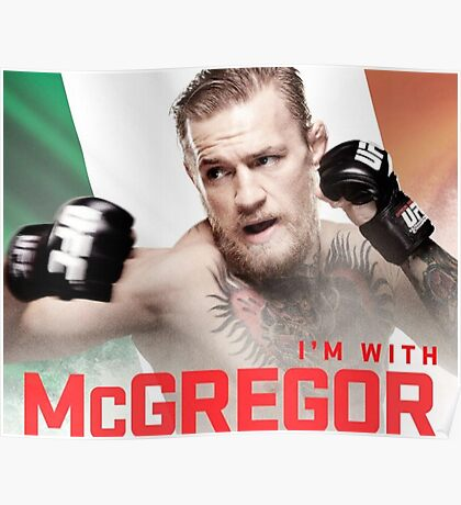 Ufc 202 Im With McGregor Here to Takeover Poster