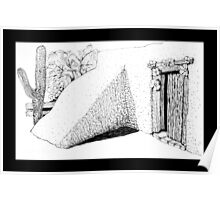 Entry to DeGrazia's Chapel Poster