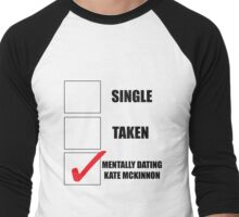 Metally Dating Kate McKinnon Men's Baseball ¾ T-Shirt