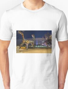 Angel Statue, Melbourne Unisex T-Shirt