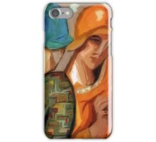 Little Gossips: Ode to Lempika's Les Amies iPhone Case/Skin