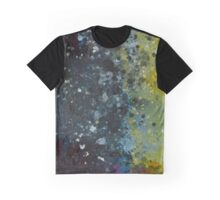 Abstraction Blue Graphic T-Shirt