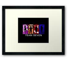 Team Seven Framed Print