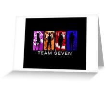 Team Seven Greeting Card