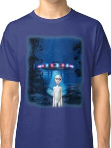 Forest UFO Close Encounter Classic T-Shirt