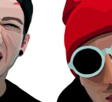 Josh and Tyler Sticker