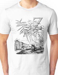 Garden Alphabet Letter Z Unisex T-Shirt