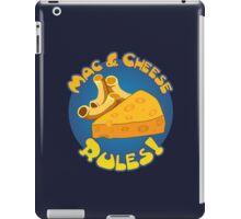 Mac & Cheese Rules iPad Case/Skin