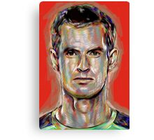 Andy Murray - Olympic Champion Canvas Print