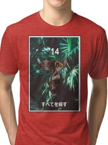 """Kill All"" '14 Japanese Shirt Tri-blend T-Shirt"