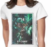 """""""Kill All"""" '14 Japanese Shirt Womens Fitted T-Shirt"""