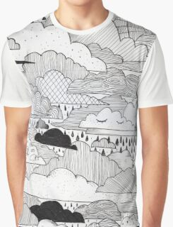 Clouds Graphic T-Shirt