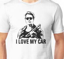 I Love My Car Kindergarten Cop Unisex T-Shirt