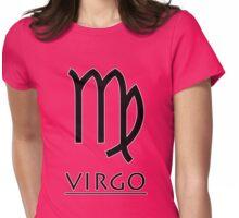 Virgo Zodiac Sign Womens Fitted T-Shirt