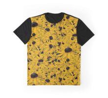 Sunflower Burst Graphic T-Shirt
