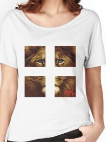 the LION Women's Relaxed Fit T-Shirt