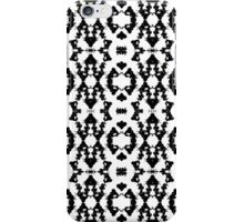 Abstract Figure Pattern iPhone Case/Skin