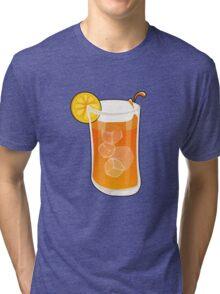 Cartoon Ice tea Tri-blend T-Shirt