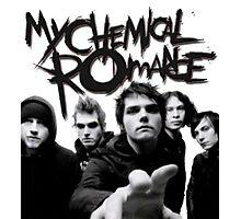 My Chemical Romance: Black parade Era Photographic Print