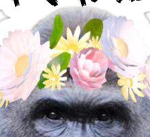 R.I.P Harambe Snapchat Flower Filter Sticker