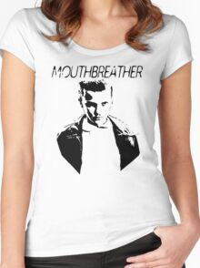 Mouthbreather  Women's Fitted Scoop T-Shirt