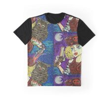 Pirate Quest For The Golden Owl Graphic T-Shirt