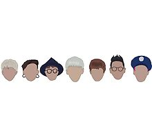 Block b heads by kpoplace