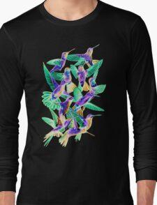 Hummingbird Dance in Sharpie (Inversion Edition) Long Sleeve T-Shirt