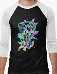 Hummingbird Dance in Sharpie (Inversion Edition) Men's Baseball ¾ T-Shirt