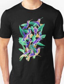 Hummingbird Dance in Sharpie (Inversion Edition) Unisex T-Shirt