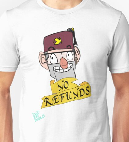 Grunkle Stan (No Refunds) Unisex T-Shirt