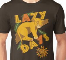 Simba - Lazy Days Unisex T-Shirt