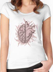 Brainheart Logo Women's Fitted Scoop T-Shirt