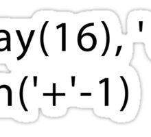 Developer Response Function_Batman (Javascript) Sticker