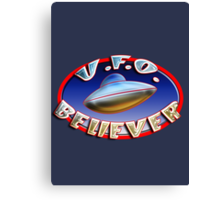 UFO Believer Canvas Print