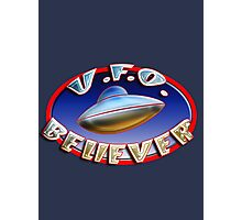 UFO Believer Photographic Print