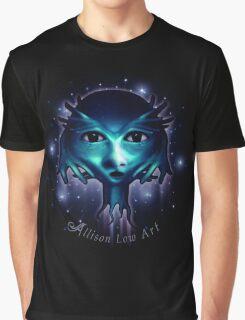 Alien Head Graphic T-Shirt