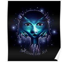 Alien Head Poster