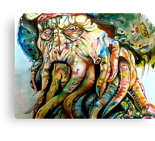Davy Jones Canvas Print