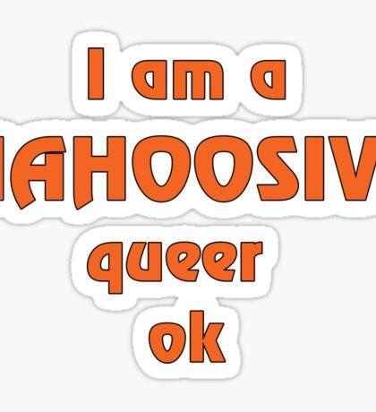 Mahoosive Queer Sticker