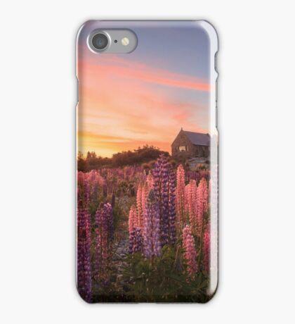 Lake Tekapo Lupins iPhone Case/Skin