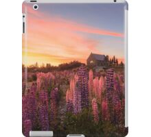Lake Tekapo Lupins iPad Case/Skin