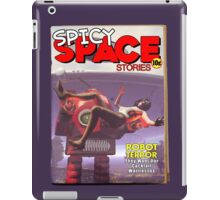 Spicy Space Stories Fake Pulp Cover iPad Case/Skin