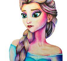 Elsa from Frozen by weronikart