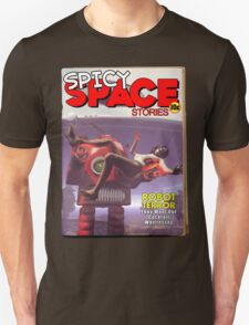 Spicy Space Stories Fake Pulp Cover T-Shirt