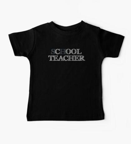 Cool Teacher Baby Tee