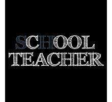 Cool Teacher Photographic Print