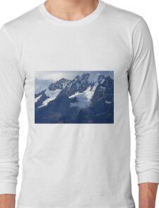 Blue Cold Glacier Long Sleeve T-Shirt