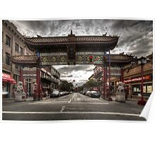China town Victoria Poster