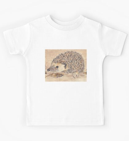 Hedgie, the African Hedgehog Kids Tee